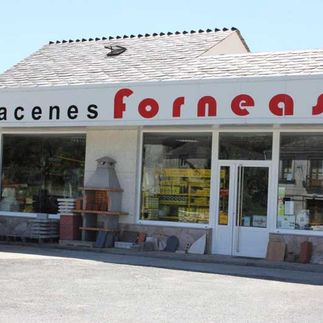 Almacenes Forneas S.L. fachada de local